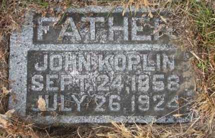 KOPLIN, JOHN - Stanton County, Nebraska | JOHN KOPLIN - Nebraska Gravestone Photos