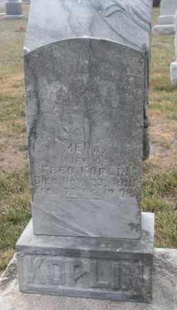 KOPLIN, MENA - Stanton County, Nebraska | MENA KOPLIN - Nebraska Gravestone Photos