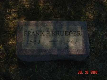 KRUEGER, FRANK F. - Stanton County, Nebraska | FRANK F. KRUEGER - Nebraska Gravestone Photos