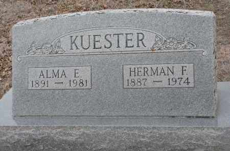 KUESTER, HERMAN F. - Stanton County, Nebraska   HERMAN F. KUESTER - Nebraska Gravestone Photos