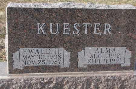 KUESTER, EWALD H. - Stanton County, Nebraska | EWALD H. KUESTER - Nebraska Gravestone Photos