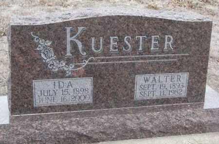 KUESTER, WALTER - Stanton County, Nebraska | WALTER KUESTER - Nebraska Gravestone Photos
