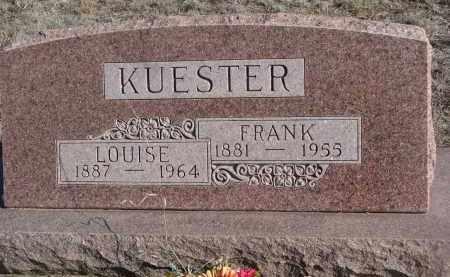 KUESTER, FRANK - Stanton County, Nebraska | FRANK KUESTER - Nebraska Gravestone Photos