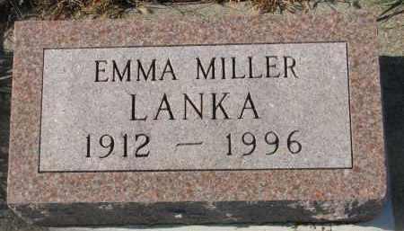 LANKA, EMMA - Stanton County, Nebraska | EMMA LANKA - Nebraska Gravestone Photos