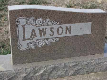 LAWSON, PLOT STONE - Stanton County, Nebraska | PLOT STONE LAWSON - Nebraska Gravestone Photos