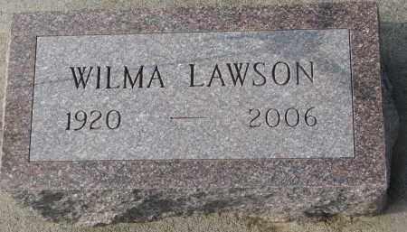 LAWSON, WILMA - Stanton County, Nebraska   WILMA LAWSON - Nebraska Gravestone Photos