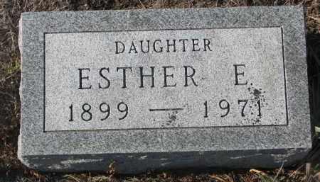 LAYTON, ESTHER E. - Stanton County, Nebraska   ESTHER E. LAYTON - Nebraska Gravestone Photos