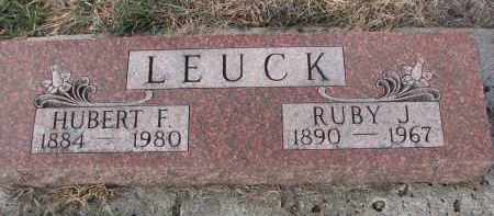 LEUCK, HUBERT F. - Stanton County, Nebraska   HUBERT F. LEUCK - Nebraska Gravestone Photos