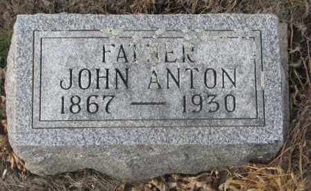 LIND, JOHN ANTON - Stanton County, Nebraska | JOHN ANTON LIND - Nebraska Gravestone Photos