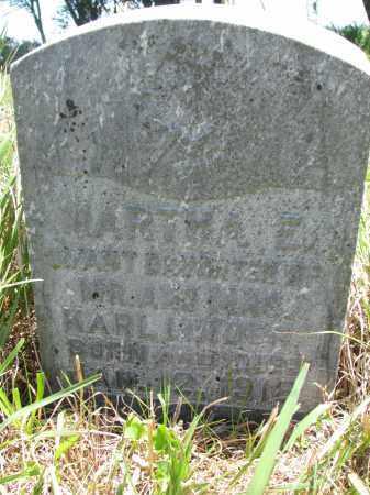 LINDNER, MARTHA E. - Stanton County, Nebraska | MARTHA E. LINDNER - Nebraska Gravestone Photos
