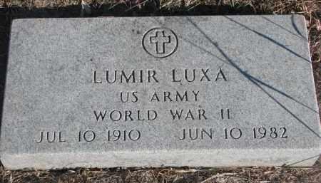 LUXA, LUMIR - Stanton County, Nebraska | LUMIR LUXA - Nebraska Gravestone Photos
