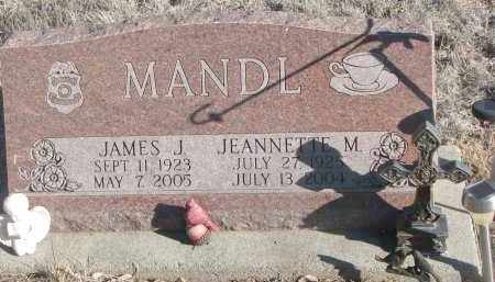 MANDL, JAMES J. - Stanton County, Nebraska | JAMES J. MANDL - Nebraska Gravestone Photos