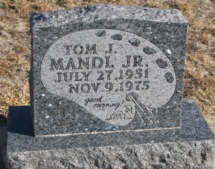 MANDL, TOM J. JR. - Stanton County, Nebraska | TOM J. JR. MANDL - Nebraska Gravestone Photos