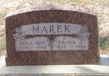 MAREK, FRANK J. - Stanton County, Nebraska | FRANK J. MAREK - Nebraska Gravestone Photos
