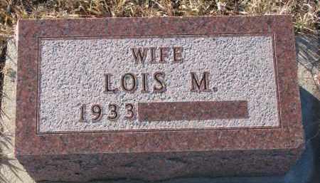 MAROTZ, LOIS M. - Stanton County, Nebraska | LOIS M. MAROTZ - Nebraska Gravestone Photos