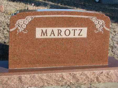 MAROTZ, PLOT STONE - Stanton County, Nebraska | PLOT STONE MAROTZ - Nebraska Gravestone Photos