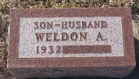 MAROTZ, WELDON A. - Stanton County, Nebraska | WELDON A. MAROTZ - Nebraska Gravestone Photos