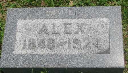 MATHESON, ALEX - Stanton County, Nebraska | ALEX MATHESON - Nebraska Gravestone Photos