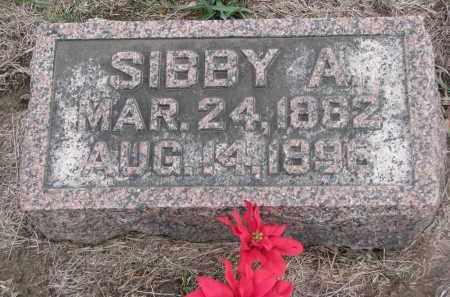 MATHESON, SIBBY A. - Stanton County, Nebraska | SIBBY A. MATHESON - Nebraska Gravestone Photos