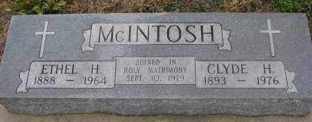 MCINTOSH, ETHEL H. - Stanton County, Nebraska | ETHEL H. MCINTOSH - Nebraska Gravestone Photos
