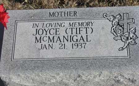 MCMANIGAL, JOYCE - Stanton County, Nebraska | JOYCE MCMANIGAL - Nebraska Gravestone Photos