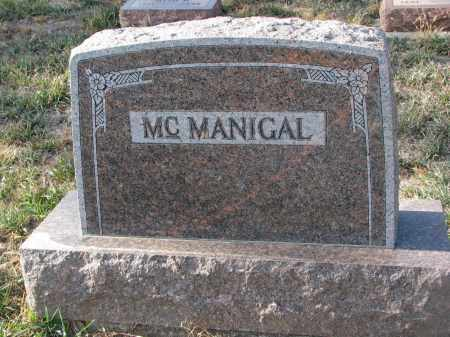 MCMANIGAL, PLOT STONE - Stanton County, Nebraska | PLOT STONE MCMANIGAL - Nebraska Gravestone Photos