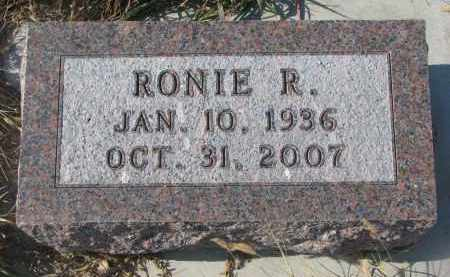 MCMANIGAL, RONIE R. - Stanton County, Nebraska | RONIE R. MCMANIGAL - Nebraska Gravestone Photos