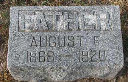 MELCHER, AUGUST F. - Stanton County, Nebraska | AUGUST F. MELCHER - Nebraska Gravestone Photos