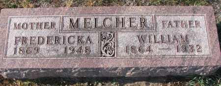MELCHER, FREDERICKA - Stanton County, Nebraska | FREDERICKA MELCHER - Nebraska Gravestone Photos