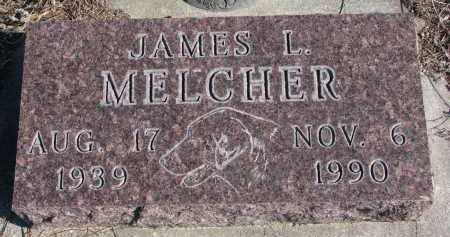 MELCHER, JAMES L. - Stanton County, Nebraska | JAMES L. MELCHER - Nebraska Gravestone Photos