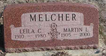 MELCHER, LEILA C. - Stanton County, Nebraska | LEILA C. MELCHER - Nebraska Gravestone Photos