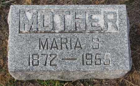MELCHER, MARIA S. - Stanton County, Nebraska | MARIA S. MELCHER - Nebraska Gravestone Photos