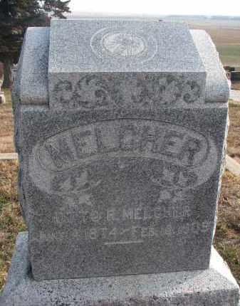 MELCHER, OTTO R. - Stanton County, Nebraska | OTTO R. MELCHER - Nebraska Gravestone Photos