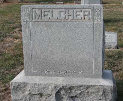 MELCHER, PLOT STONE - Stanton County, Nebraska | PLOT STONE MELCHER - Nebraska Gravestone Photos