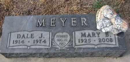 MEYER, DALE J. - Stanton County, Nebraska | DALE J. MEYER - Nebraska Gravestone Photos