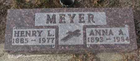 MEYER, ANNA A. - Stanton County, Nebraska | ANNA A. MEYER - Nebraska Gravestone Photos