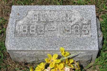 MILLER, BESSIE - Stanton County, Nebraska | BESSIE MILLER - Nebraska Gravestone Photos
