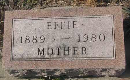 MILLER, EFFIE - Stanton County, Nebraska | EFFIE MILLER - Nebraska Gravestone Photos