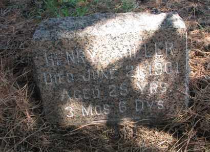 MILLER, HENRY - Stanton County, Nebraska | HENRY MILLER - Nebraska Gravestone Photos