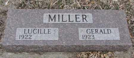 MILLER, GERALD - Stanton County, Nebraska   GERALD MILLER - Nebraska Gravestone Photos