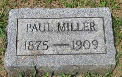 MILLER, PAUL - Stanton County, Nebraska | PAUL MILLER - Nebraska Gravestone Photos