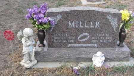 MILLER, RUSSELL J. - Stanton County, Nebraska | RUSSELL J. MILLER - Nebraska Gravestone Photos