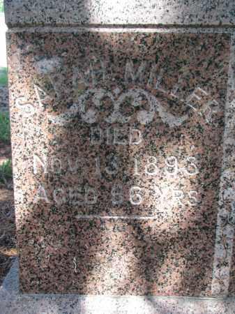 MILLER, SARAH (CLOSEUP) - Stanton County, Nebraska   SARAH (CLOSEUP) MILLER - Nebraska Gravestone Photos
