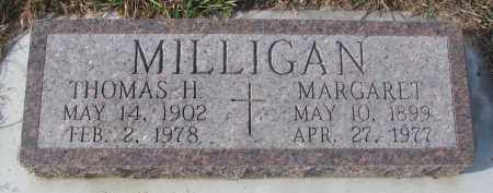 MILLIGAN, MARGARET - Stanton County, Nebraska | MARGARET MILLIGAN - Nebraska Gravestone Photos