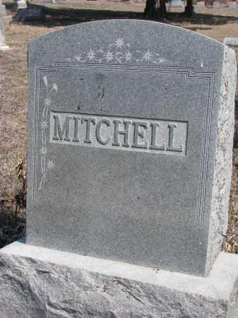 MITCHELL, PLOT STONE - Stanton County, Nebraska   PLOT STONE MITCHELL - Nebraska Gravestone Photos