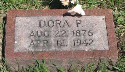 MUHS, DORA P. - Stanton County, Nebraska   DORA P. MUHS - Nebraska Gravestone Photos