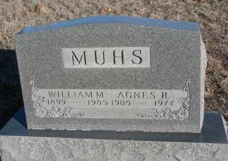 MUHS, AGNES R. - Stanton County, Nebraska | AGNES R. MUHS - Nebraska Gravestone Photos