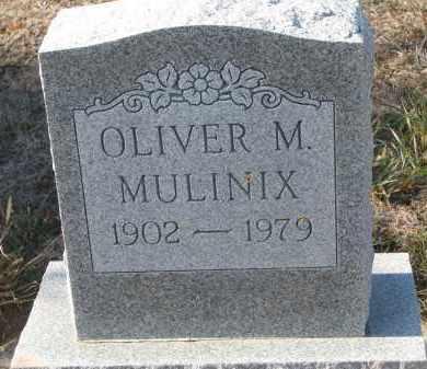MULINIX, OLIVER M. - Stanton County, Nebraska | OLIVER M. MULINIX - Nebraska Gravestone Photos