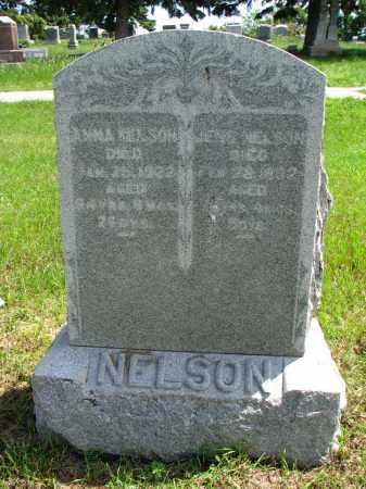 NELSON, ANNA - Stanton County, Nebraska | ANNA NELSON - Nebraska Gravestone Photos
