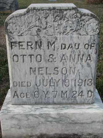 NELSON, FERN M. - Stanton County, Nebraska | FERN M. NELSON - Nebraska Gravestone Photos